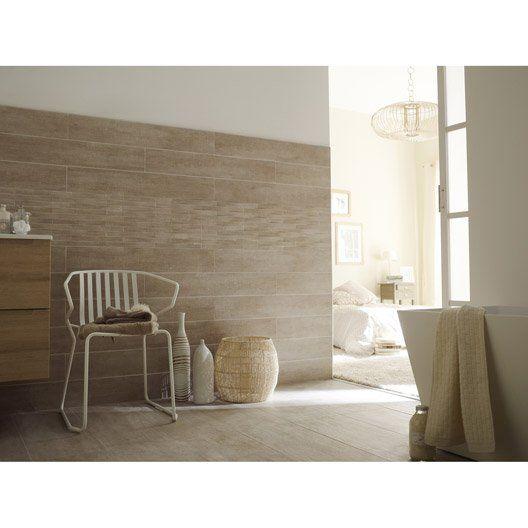 Carrelage int rieur taiga premium en gr s beige mandorlo for Carrelage mural salle de bain beige