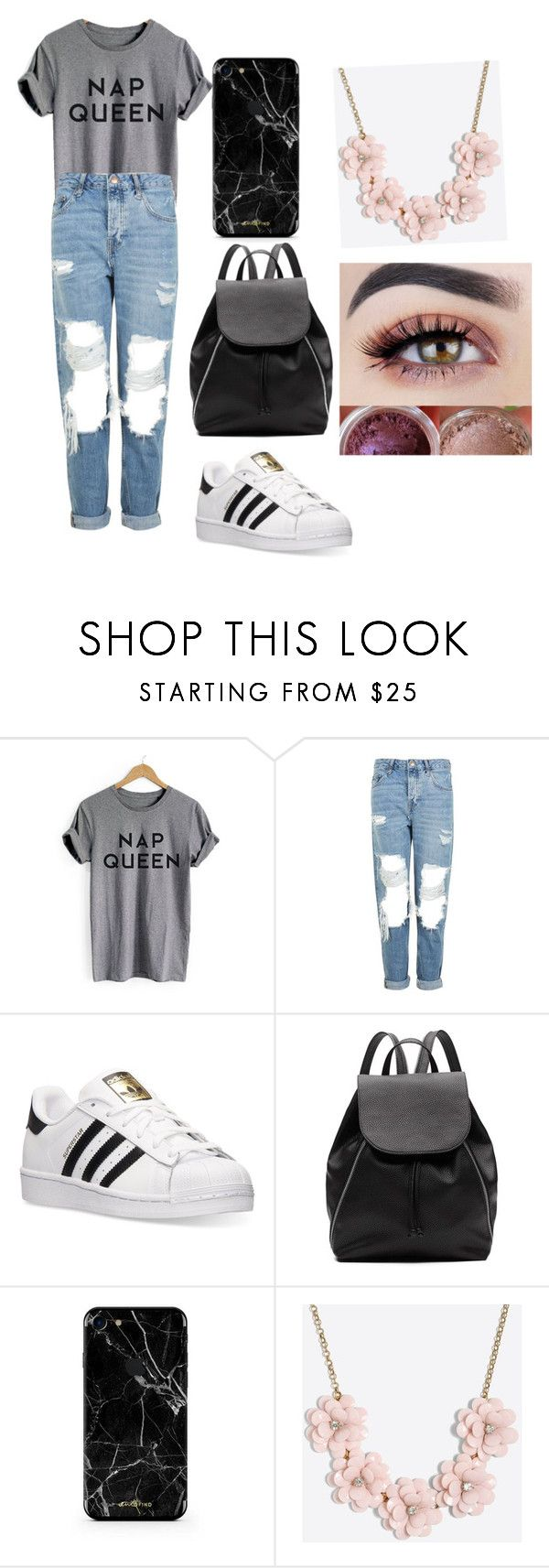 """""""Untitled #289"""" by timcaaa on Polyvore featuring Topshop, adidas, Witchery and J.Crew"""