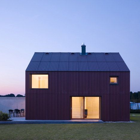 Stuttgart Photographer Zooey Braun Has Sent Us His Images Of This Corrugated House In Bavaria Designed By German Firm Soho Architecture Architect Small House