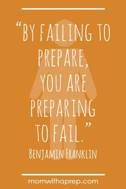 A Few Good Preparedness Quotes For Motivation Ben Franklin