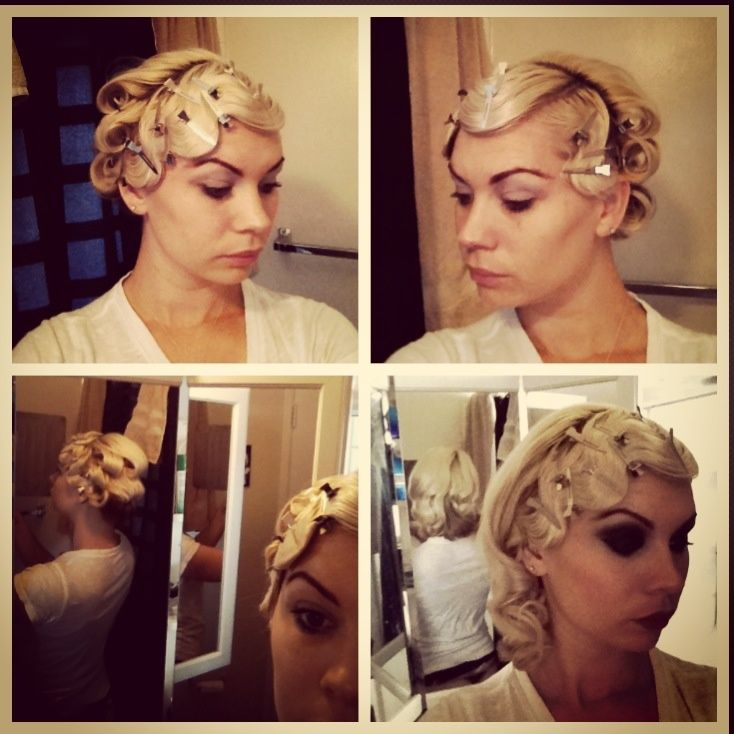 Finger Waves And Pin Curls Hairstyle Favorable