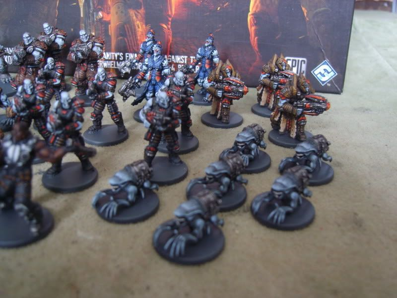 Gears Of War All Painted Gears Of War The Board Game Ffg