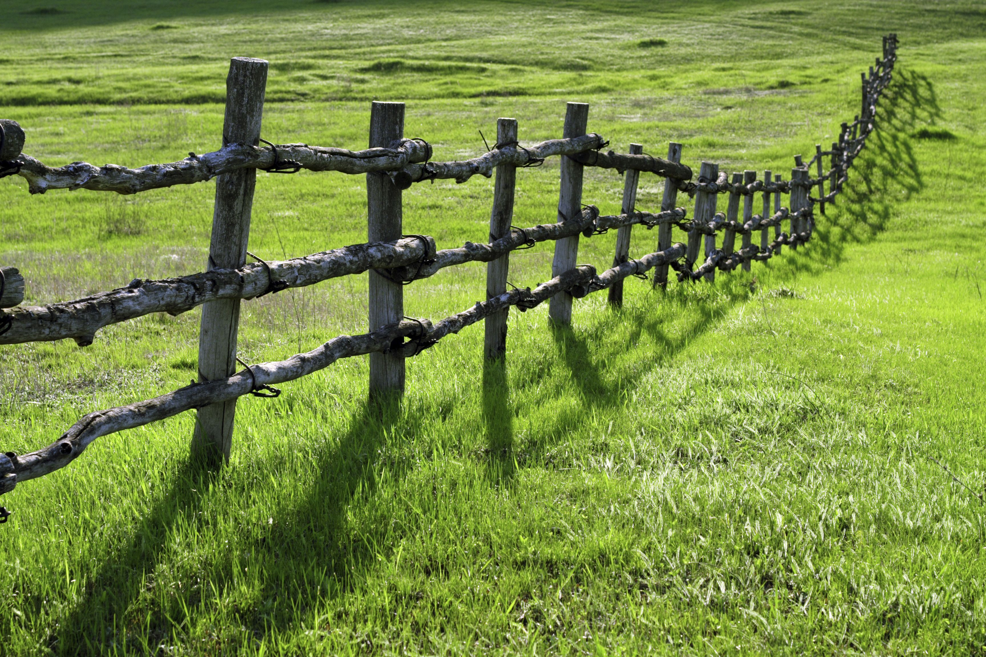 Beau Old Wooden Fences