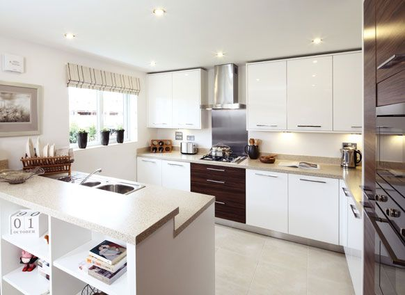 Kitchen Dining Living In The Oxford Redrow Kitchen