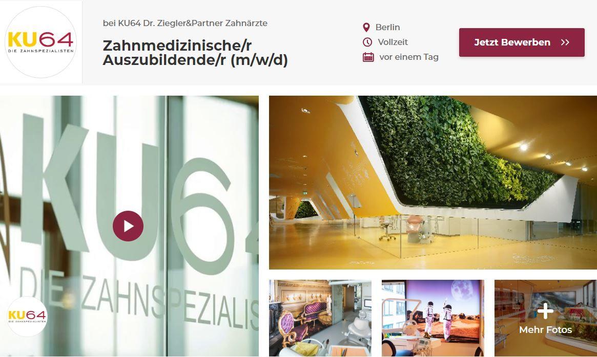 Video Schicken Ausbildungsplatz Ergattern Du Bist Auf Der Suche Nach Einem Ausbildungsplatz Jetzt Kannst Du Dich Bei U Zahnarzt Ausbildungsplatze Ausbildung