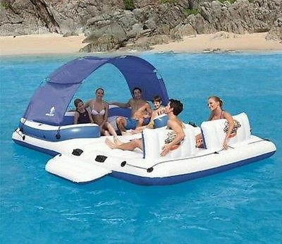 New Bestway Cooler Z Tropical Breeze Large Float Raft Floating Island Inflatable Floating Island Inflatable Island Floating Island Raft