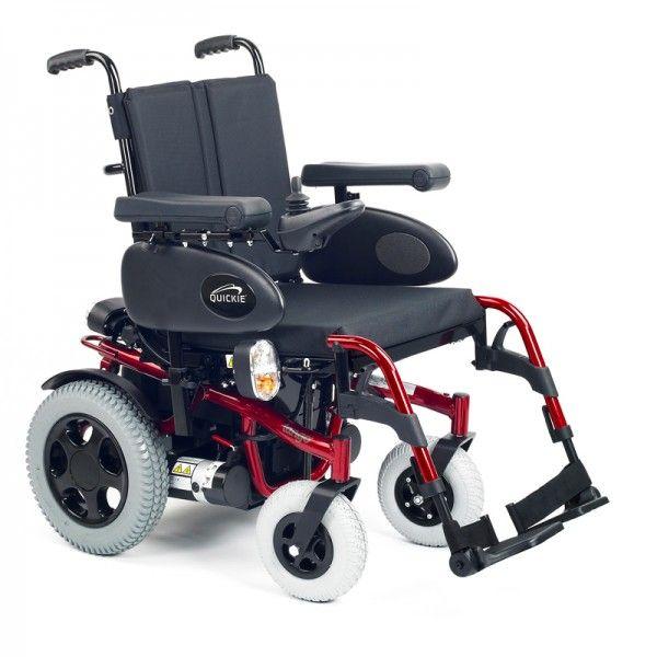 quickie rumba silla de ruedas eléctrica plegable