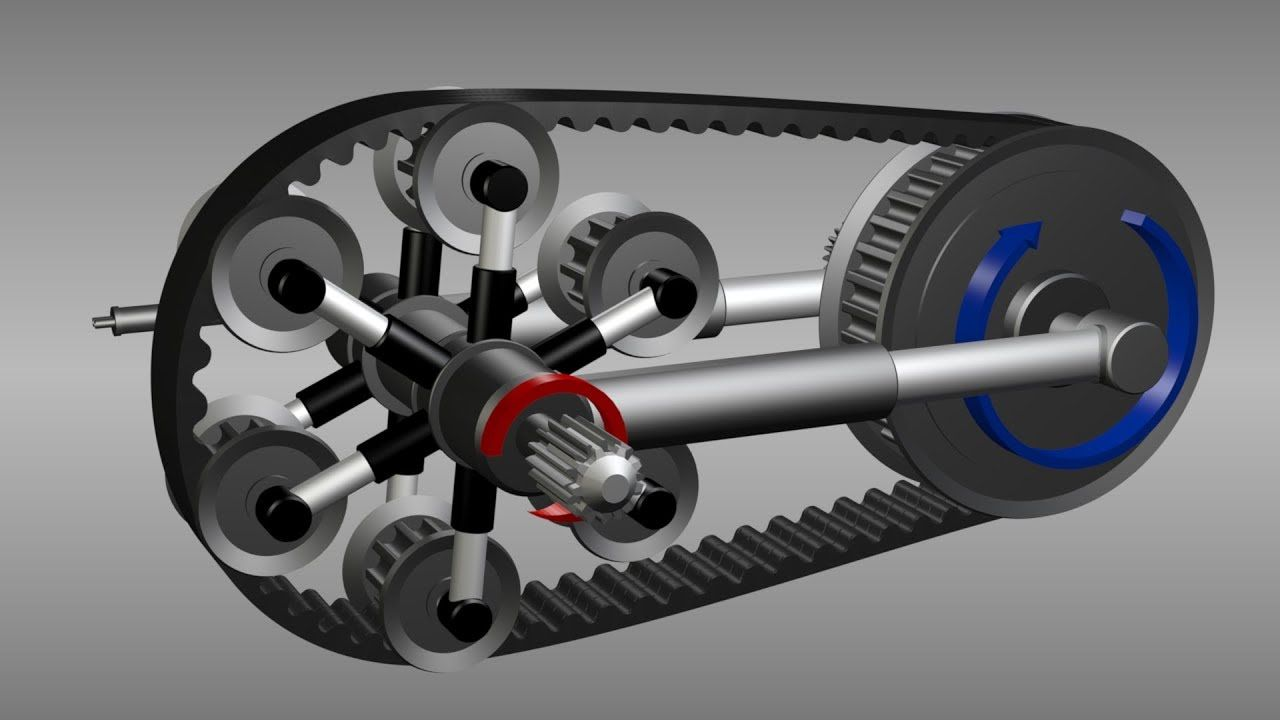 Continuously variable transmission Motor eléctrico