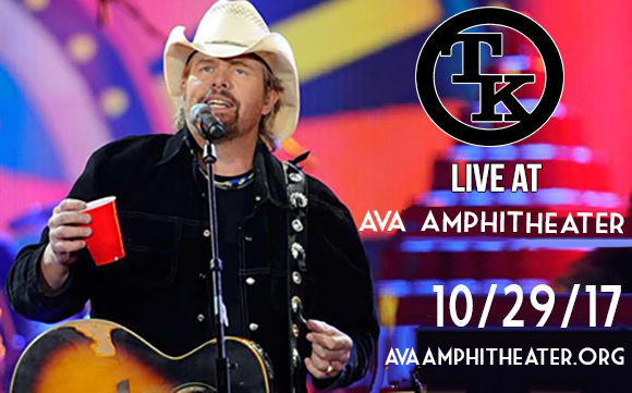 Toby Keith at AVA Amphitheater!!    TICKETS: http://bit.ly/2qMJedN
