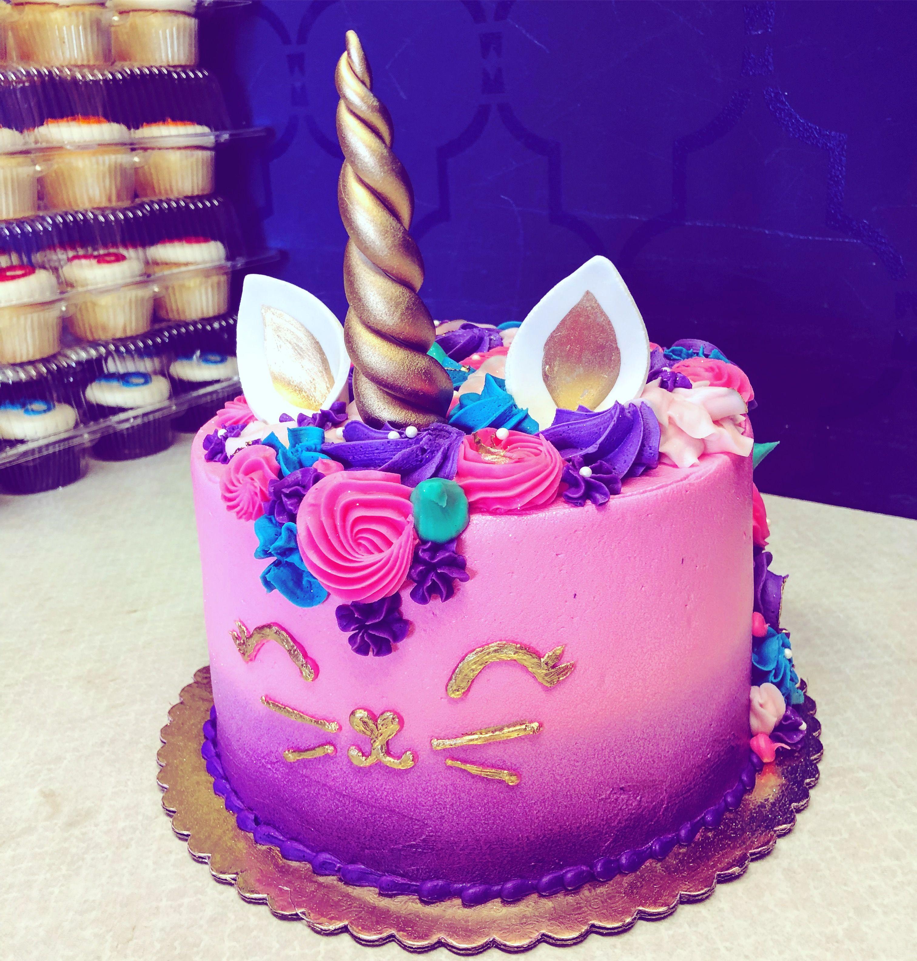 Brilliant Unicorn Cat Cake Cat Cake Cake Unicorn Birthday Cake Funny Birthday Cards Online Inifodamsfinfo