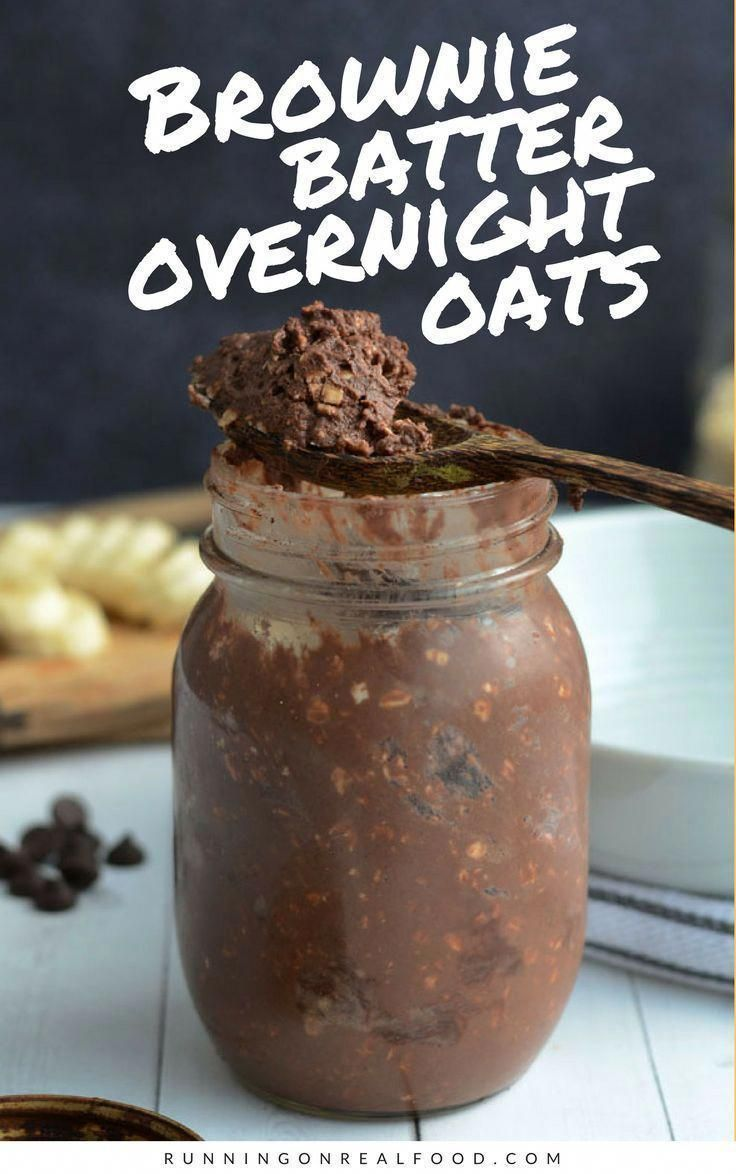 Brownies for breakfast, anyone? Why not! These brownie batter overnight oats are super easy to make and taste like brownie batter. High in protein, vegan and gluten-free.