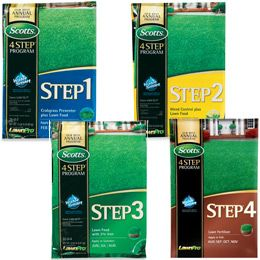 Scotts 4 Step Lawn Care Fertilizer Program True Value