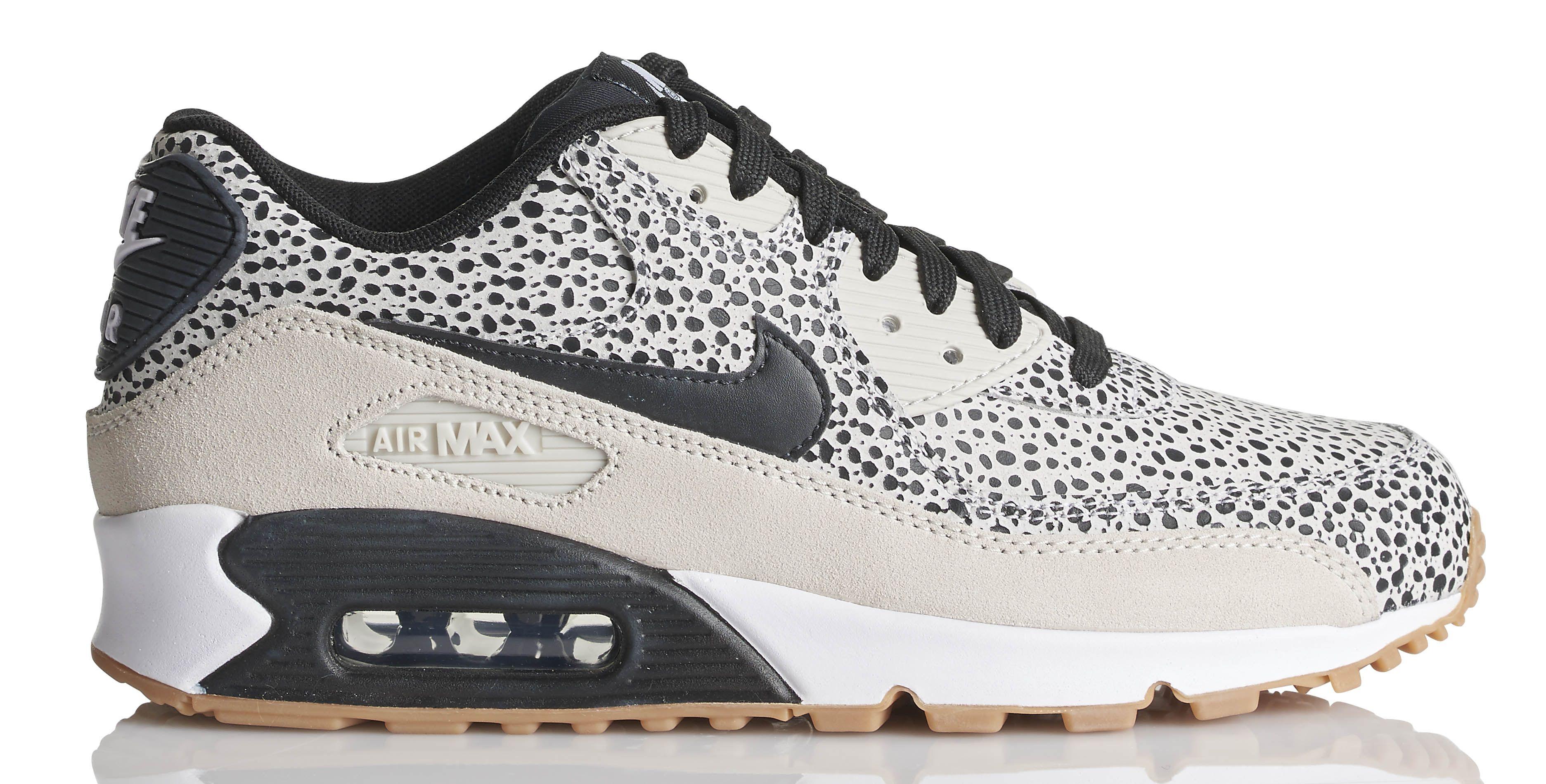 Marques Chaussure femme Nike femme Wmns Air Max 90 Se Black/Black-Gum Light Brown-White