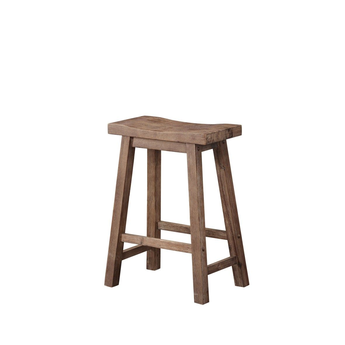 The Gray Barn Vermejo Wire Brush Saddle Stool In Grey As Is Item