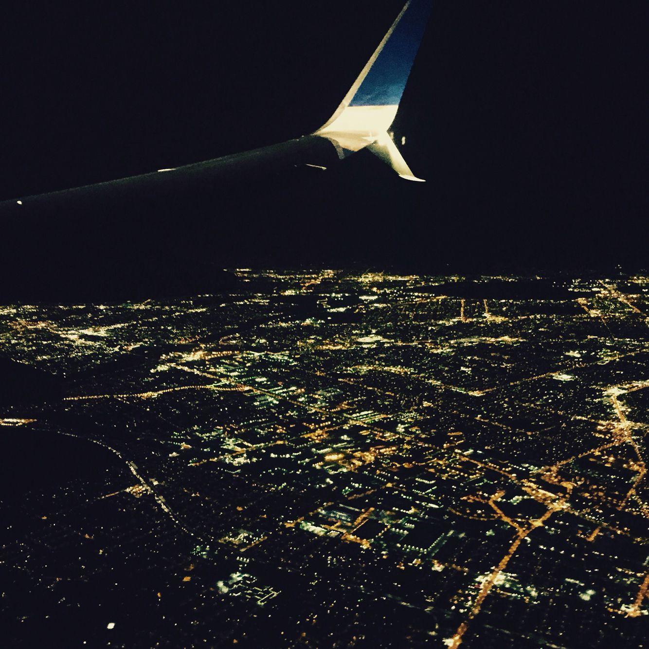 Night light over LA