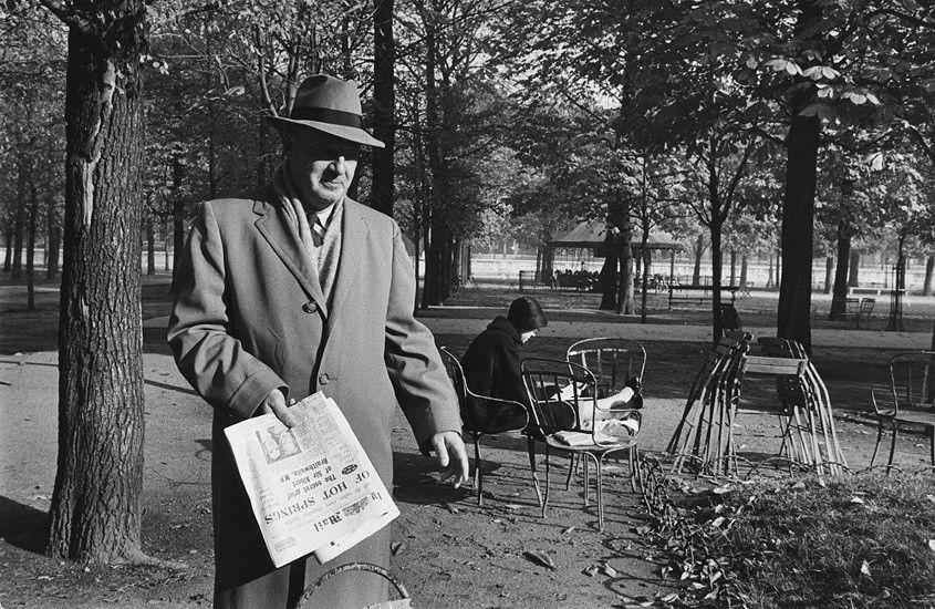 Vladimir Nabokov in 1959, by Marc Riboud.