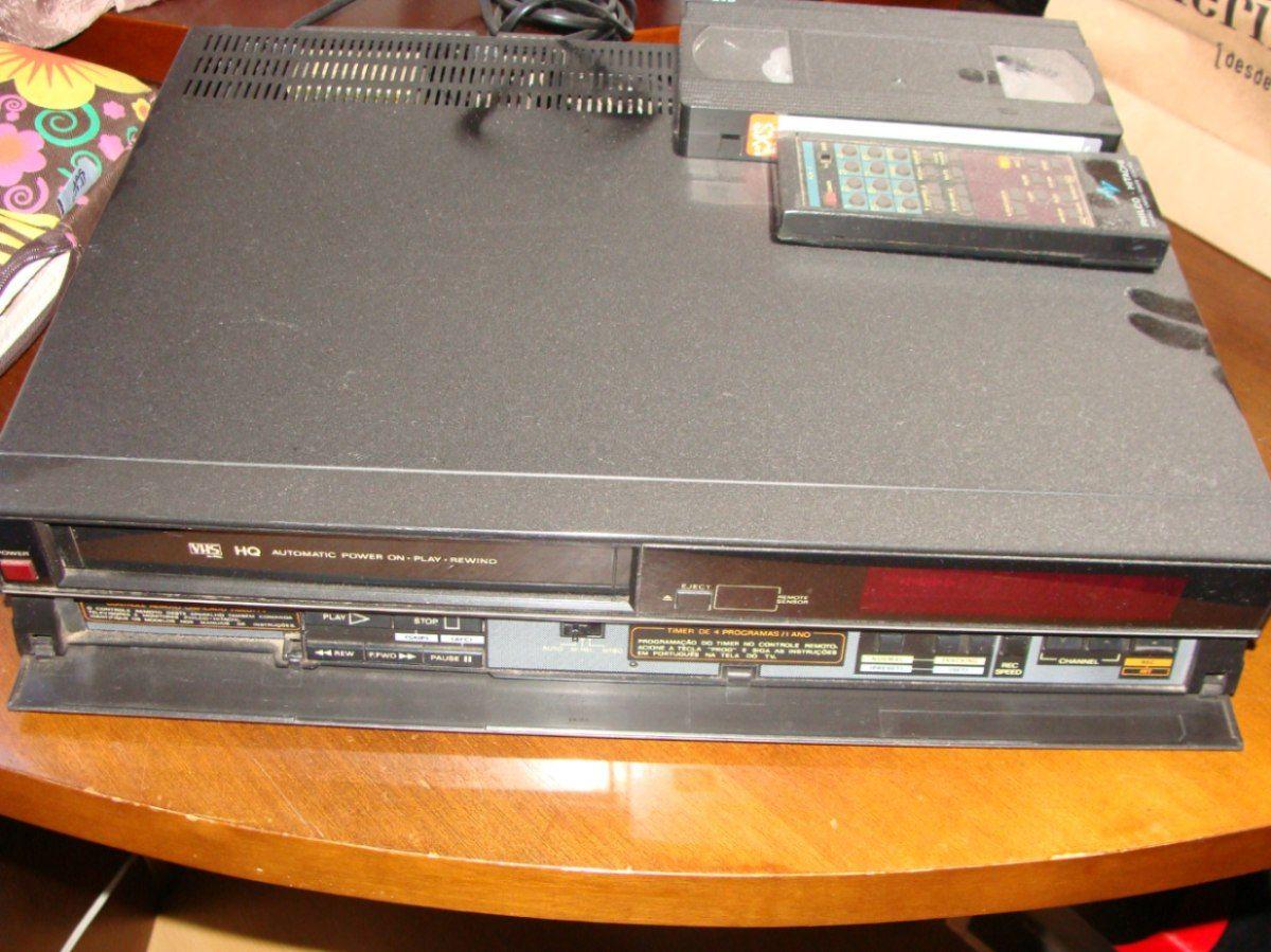 Vídeo Cassete Cassette Philco-hitachi - Colecionado - R$ 500,00 no MercadoLivre