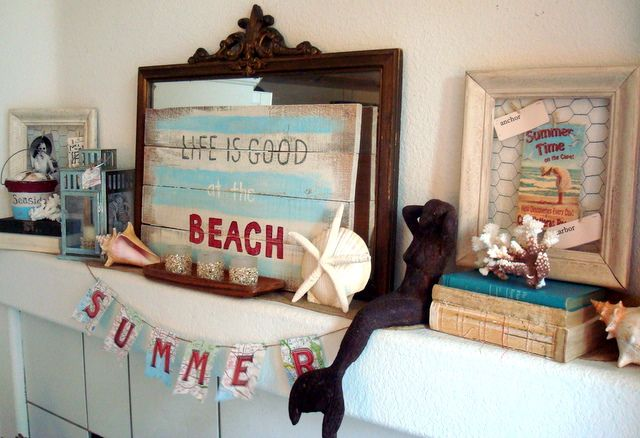 starshine chic decorating on a dime or even less summer buntings - Decorating On A Dime