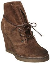 brown wedge lace up heel boots-dune ladies rodeo d brown crepe sole wedge ankle boot