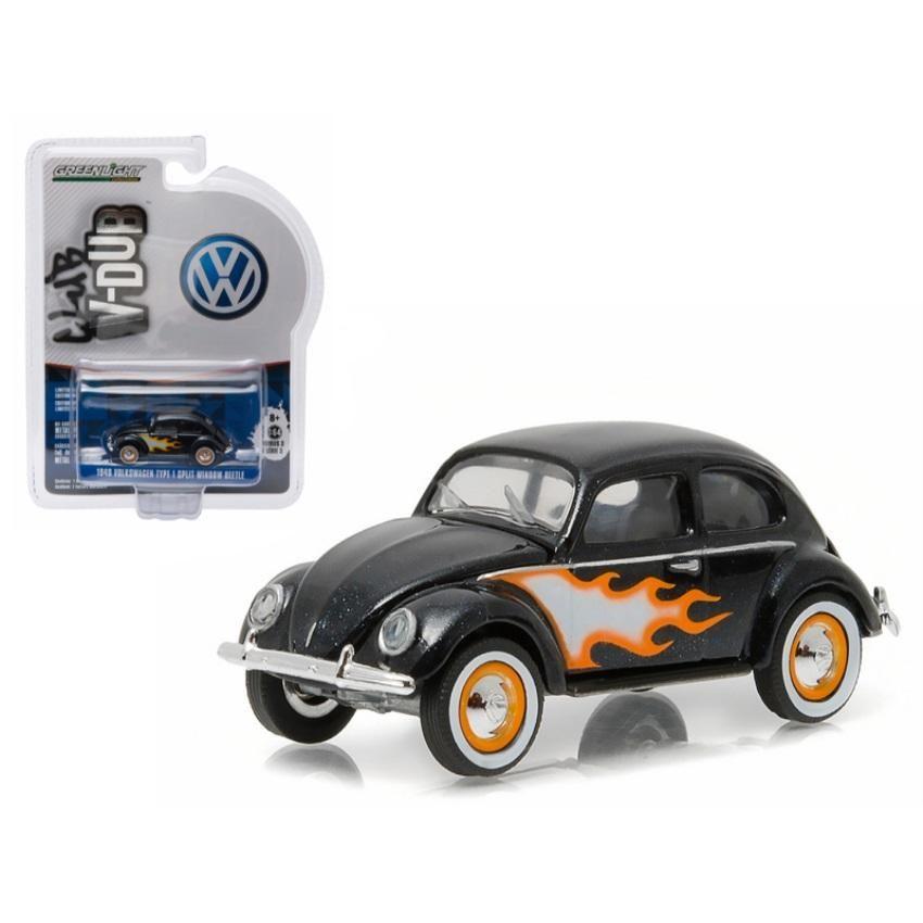 1949 Volkswagen Type 1 Split Window Beetle Black With