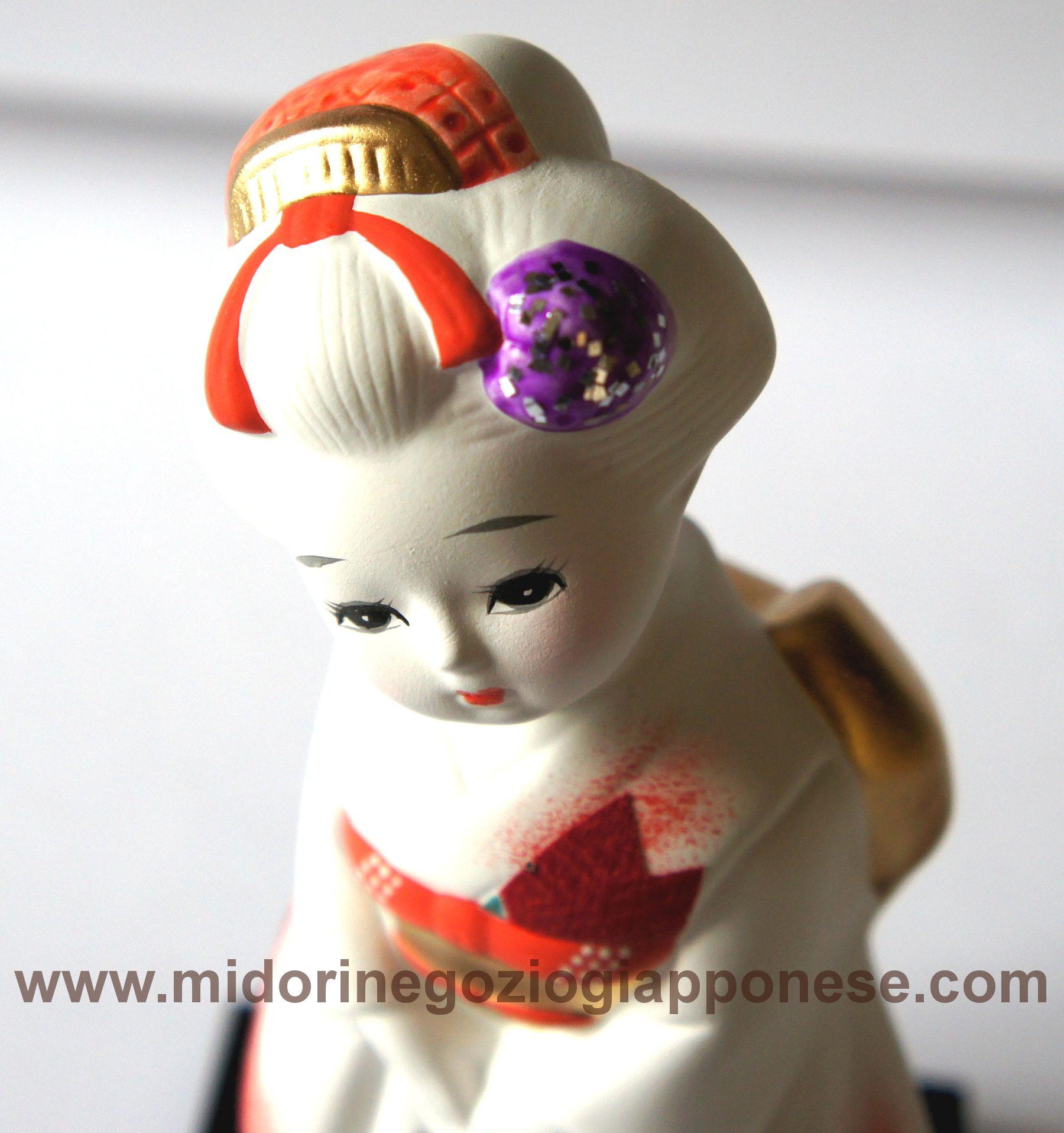Geisha in ceramica