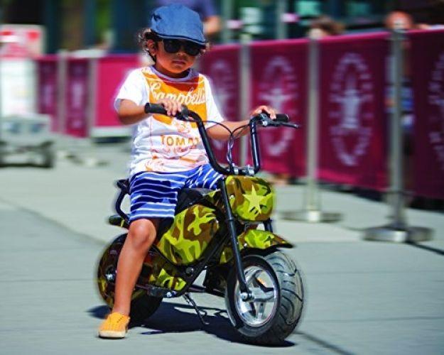 Electric Bike Jetson Motorcycle Battery Junior E Bike Camouflage