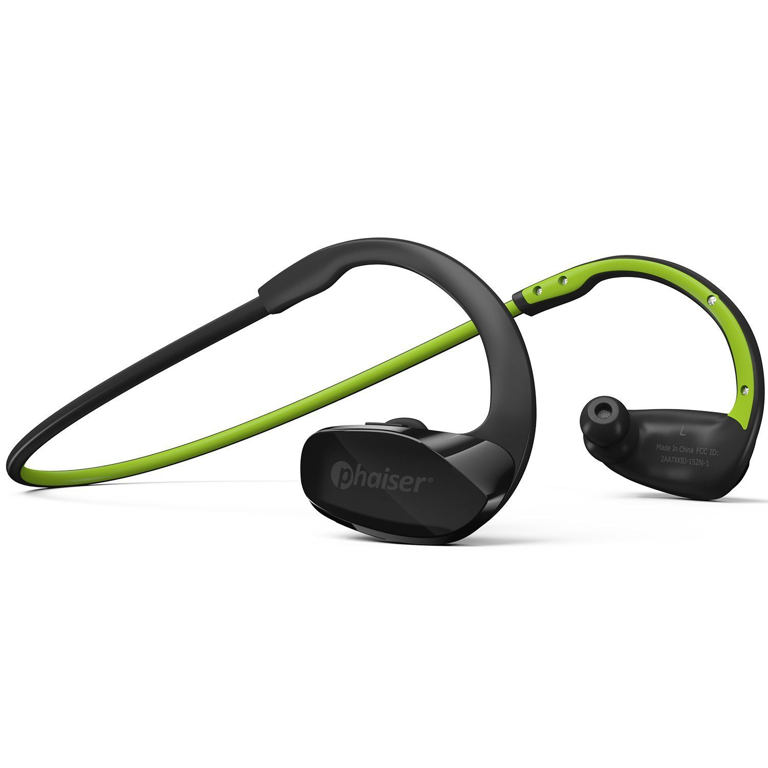 3440f490e23 Amazon.com: Phaiser BHS-530 Bluetooth Headphones, Wireless Earbuds Stereo  Earphones for