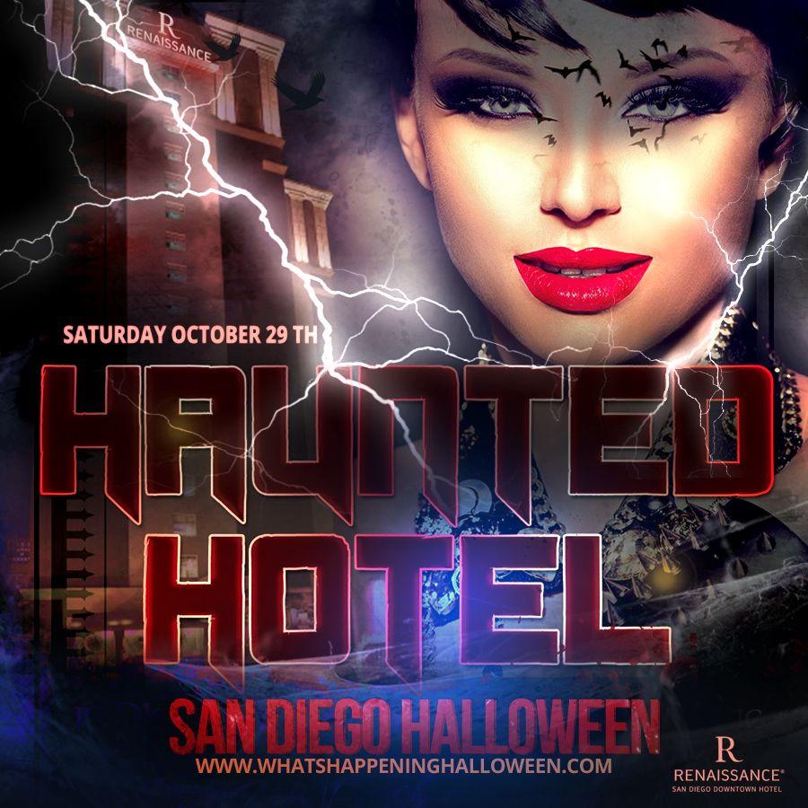 Haunted Hotel San Diego Halloween 2016 October 29th