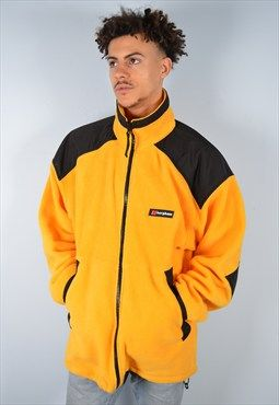 db2276580 Berghaus Mens Vintage Fleece Jacket XL Orange 90's | Dope Board ...