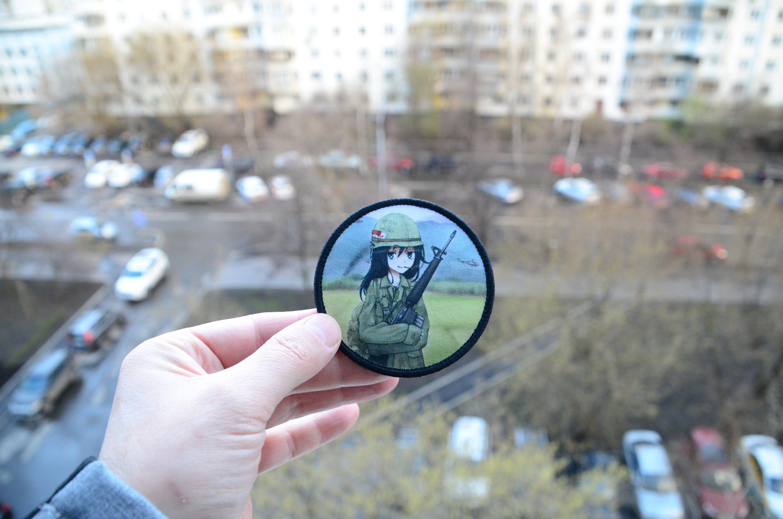Anime manga tactical girls by nikita zaplatin zapnik etsy