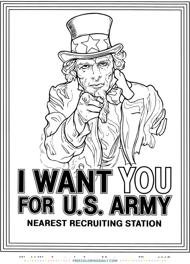 Free Uncle Sam Coloring Free Coloring Pages For Adults Kids In