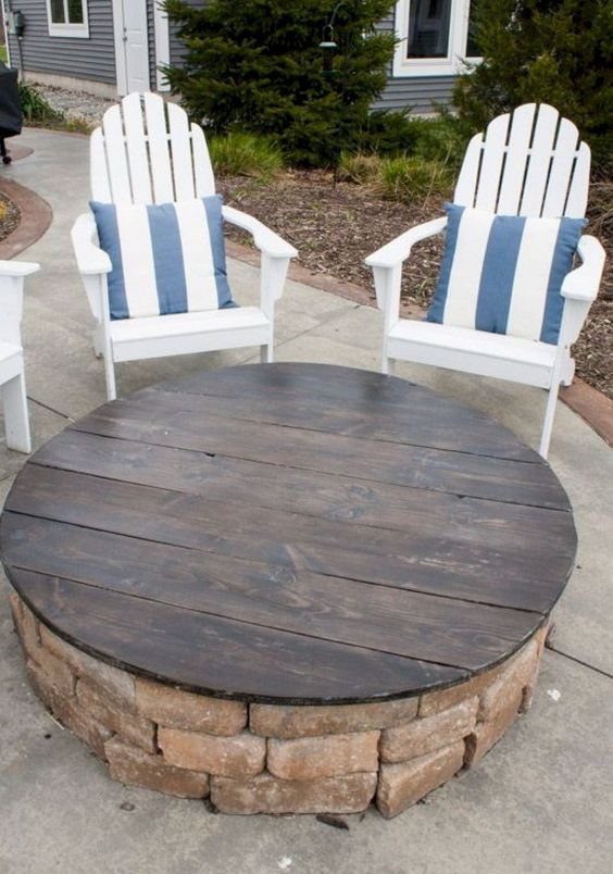 50 Awesome Backyard Fire Pit Design Ideas For The Home
