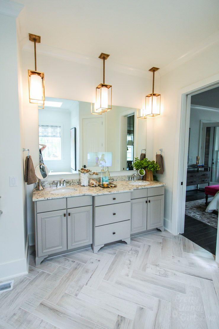 Neutral Bathroom From The HGTV Smart Home Tour In Raleigh NC - Bathroom vanities raleigh nc for bathroom decor ideas
