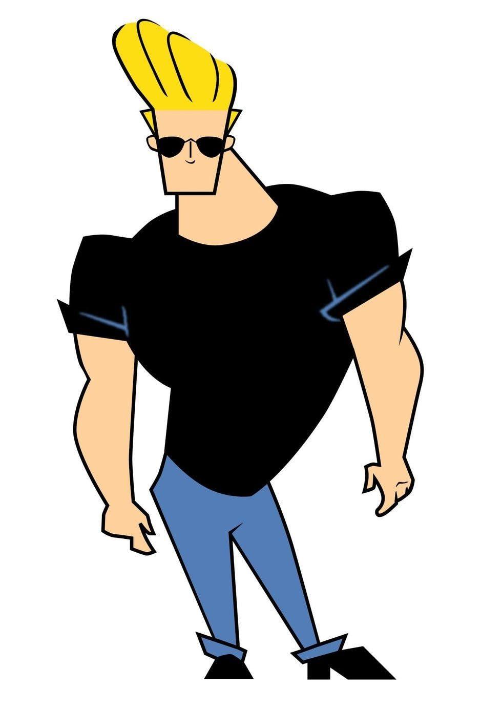 Pin By On Characters Beard Cartoon Johnny Bravo Cartoon Character Costume