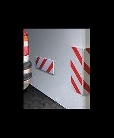 Coppia salvacolpi adesivi ideali per autorimesse