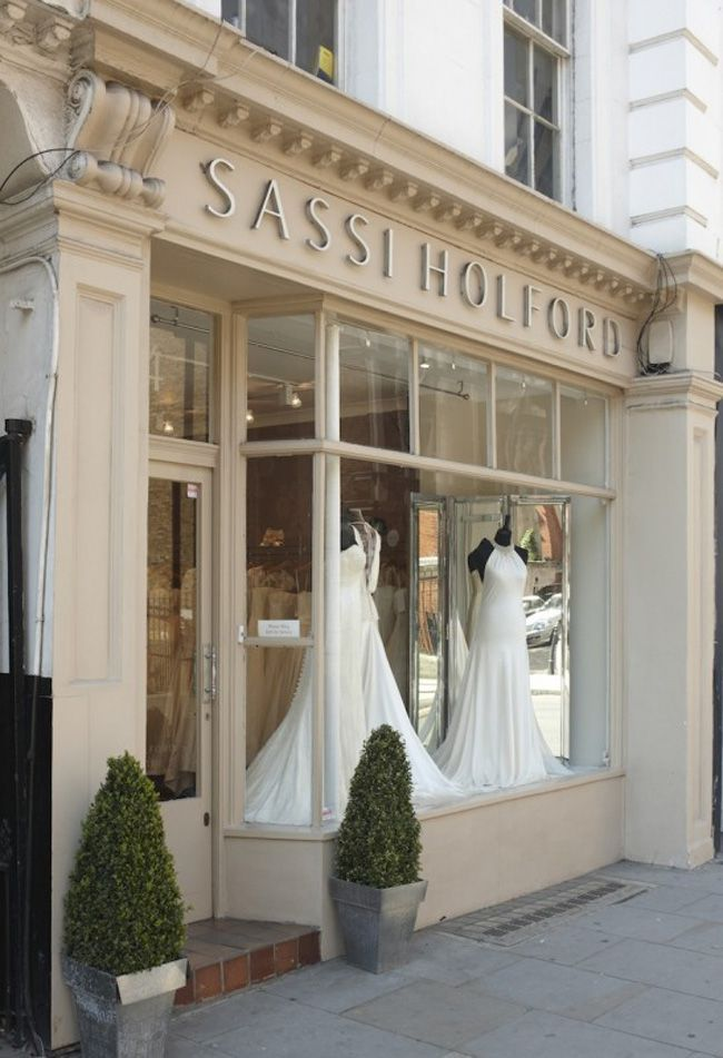 954b7e995 Your most common wedding dress questions answered! | Vitrines | Bridal  boutique interior, Bridal shop interior und Bridal stores