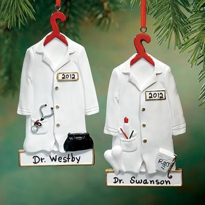 Gift Idea: Personalized Doctor Ornament #pintowinGifts & @Gifts ...