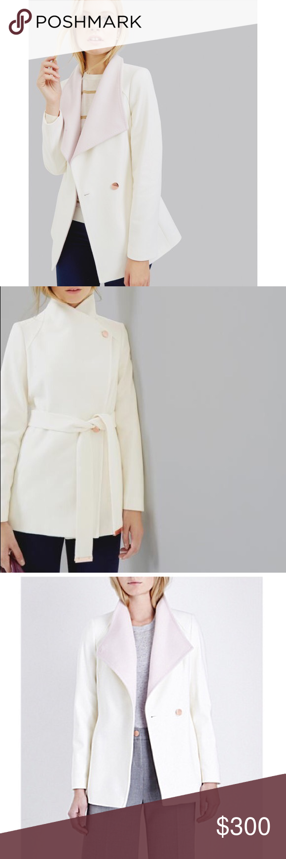 a6028d8944be2 NWT Ted Baker Elika short wrap coat Purchased from Bloomingdales ...