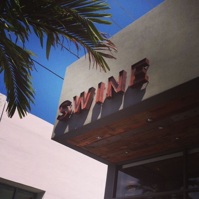 Swine Southern Table & Bar, Coral Gables