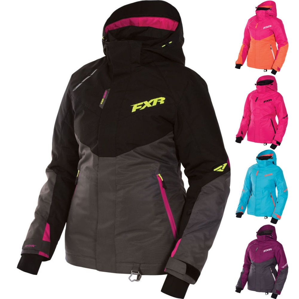 Details about FXR Rush Womens Snowmobile Sled Coats Parkas