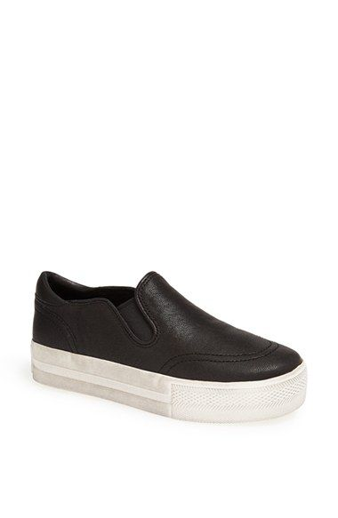 Women's Ash 'Jungle' Platform Sneaker, Size 40 EU - Black
