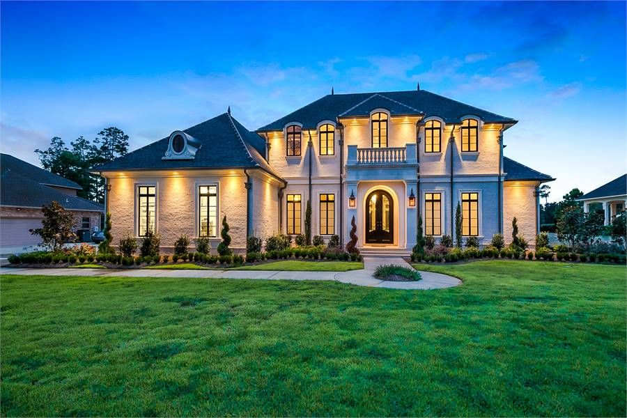 Traditional Luxury Style House Plan 6900 Baton Rouge Beautiful House Plans House Plans Dream House Plans