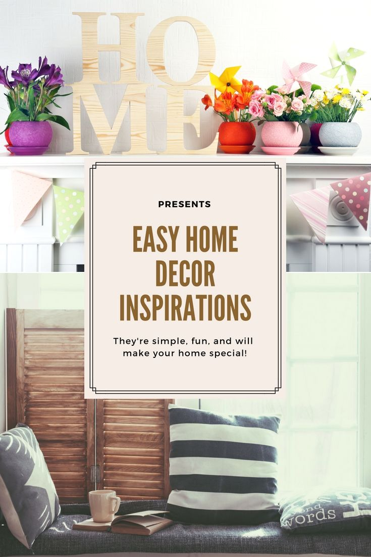 Easy and Simple Home Decor Creative Ideas - Integrating These Simple ...