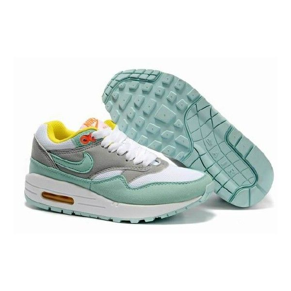 nike air max gray and mint