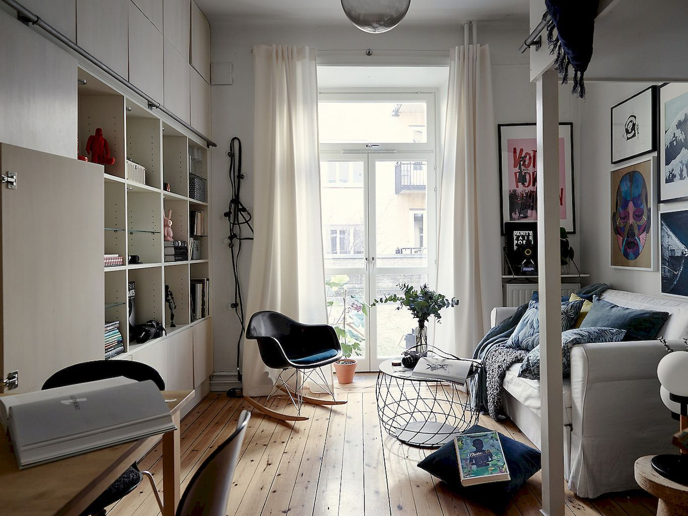 Nice 60 Cool Studio Apartment with Scandinavian Style Ideas on A ...