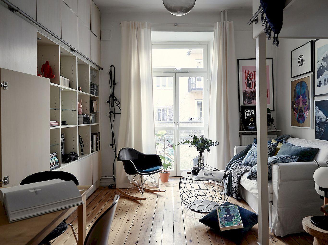 cool studio apartment. 60 Cool Studio Apartment  With Scandinavian Style Ideas On A Budget