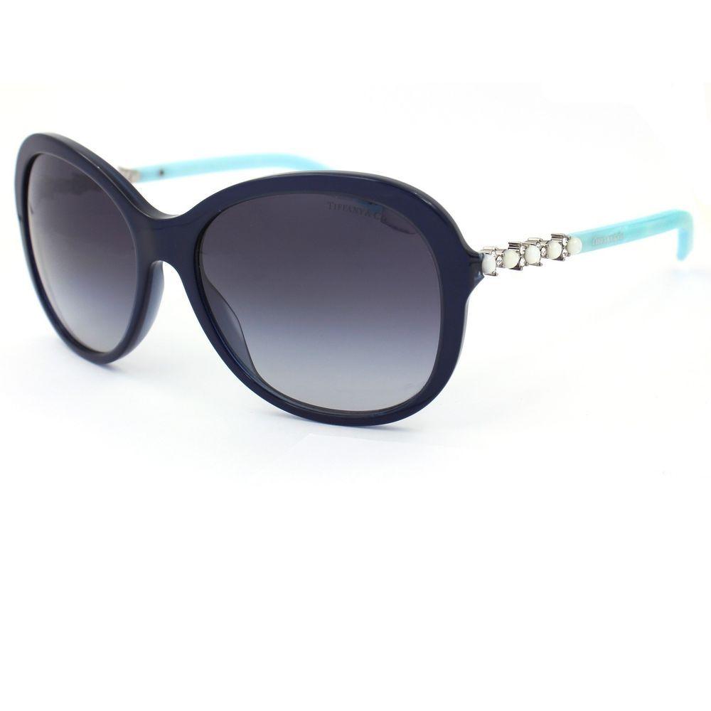 3792634b072 Aria Adagio Blue Sunglasses with Gray Gradient Lenses TF4104-H-B  TiffanyCo   Oval