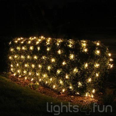 100 White LED Solar Fairy Lights Solar fairy lights and Gardens