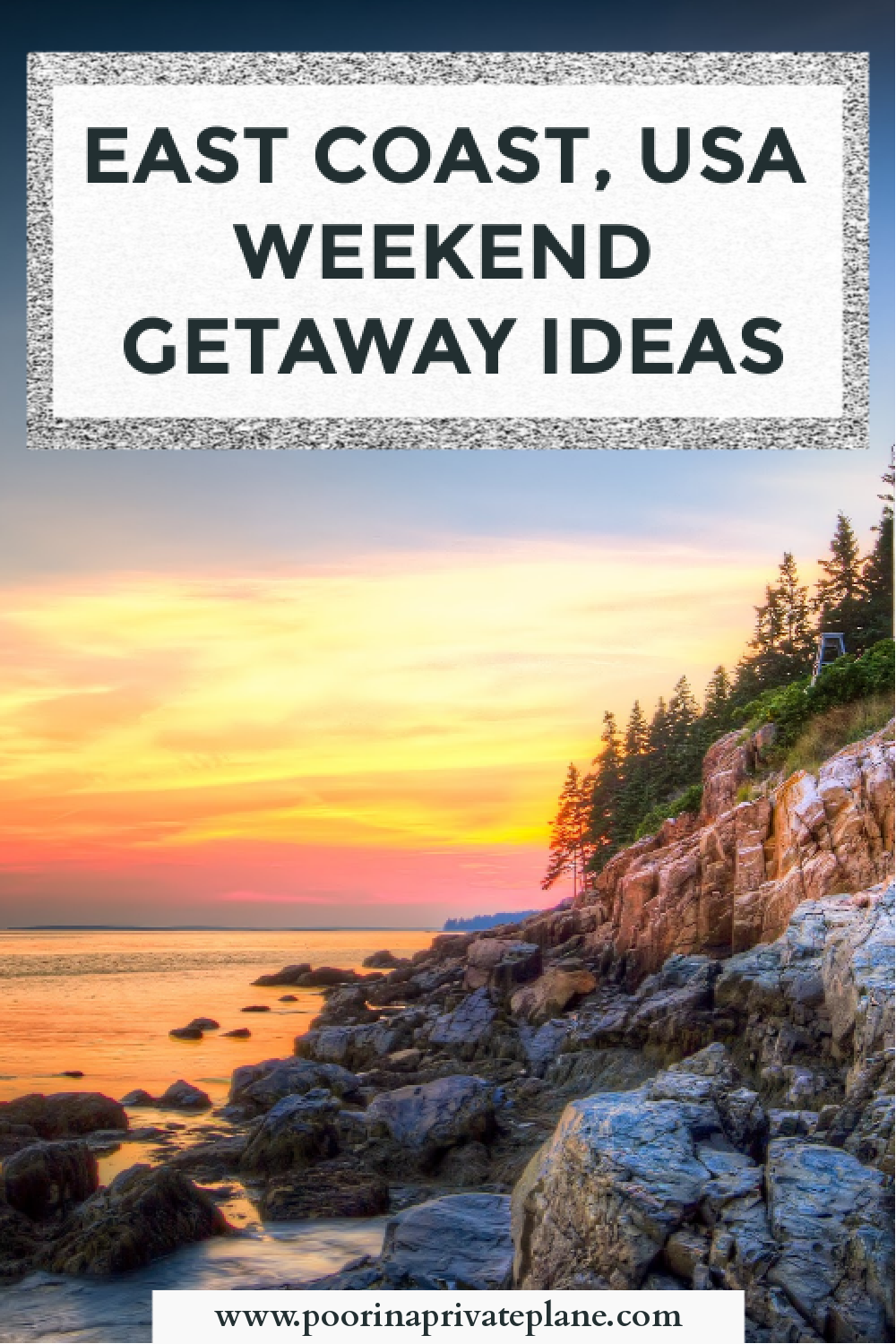 Weekend Getaway Ideas On The East Coast Of The Usa Looking For Vacation Spots Close To Home These Us Tr In 2020 Us Travel Destinations Dream Vacations Vacation Spots