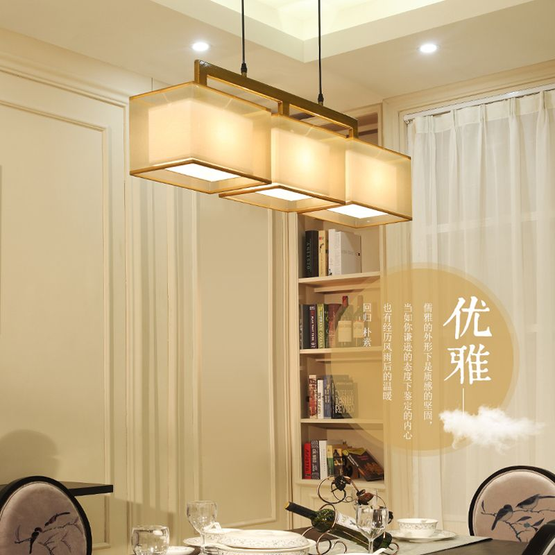 Modern Chinese Style Chandelier Ritzy Dining Room Light